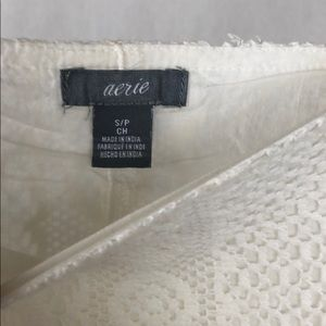 aerie Tops - Off Shoulder Lace Tank